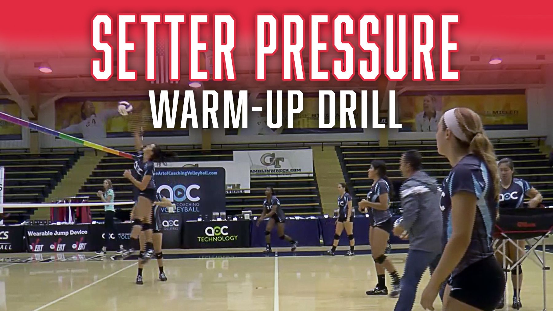 Setter Pressure Warmup Drill The Art Of Coaching Volleyball Coaching Volleyball Volleyball Conditioning Volleyball Skills