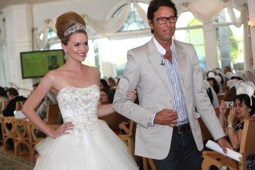 Presentación del vestido de novia inspirado en Cenicienta - Foto ...