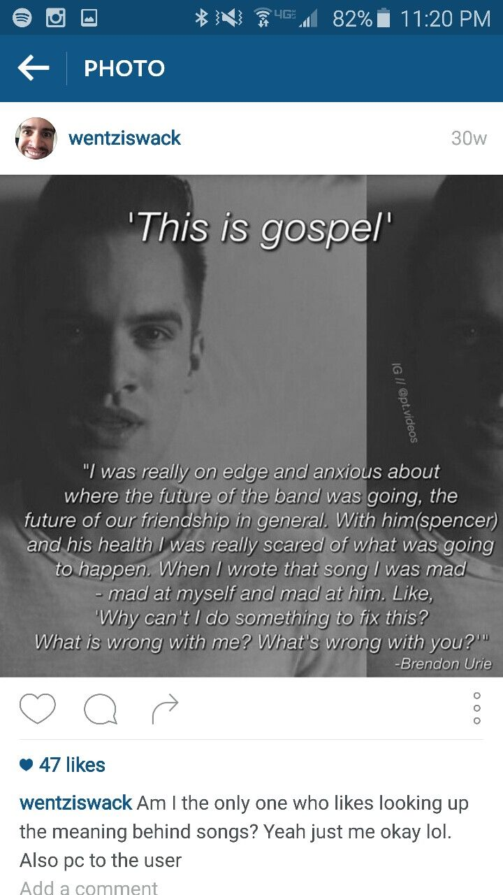 this is gospel meaning