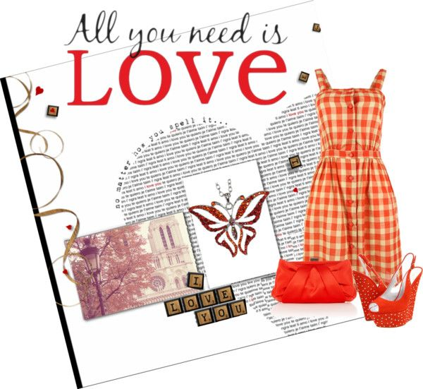 """""""All you need is LOVE"""" by marina-mystyle ❤ liked on Polyvore"""