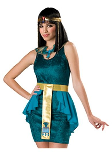 Egyptian Jewel Teen Girls Halloween Costume. I could so pass as being Egyptian with my brown skin black hair and brown eyes!  sc 1 st  Pinterest & Egyptian Jewel Teen Girls Halloween Costume. I could so pass as ...