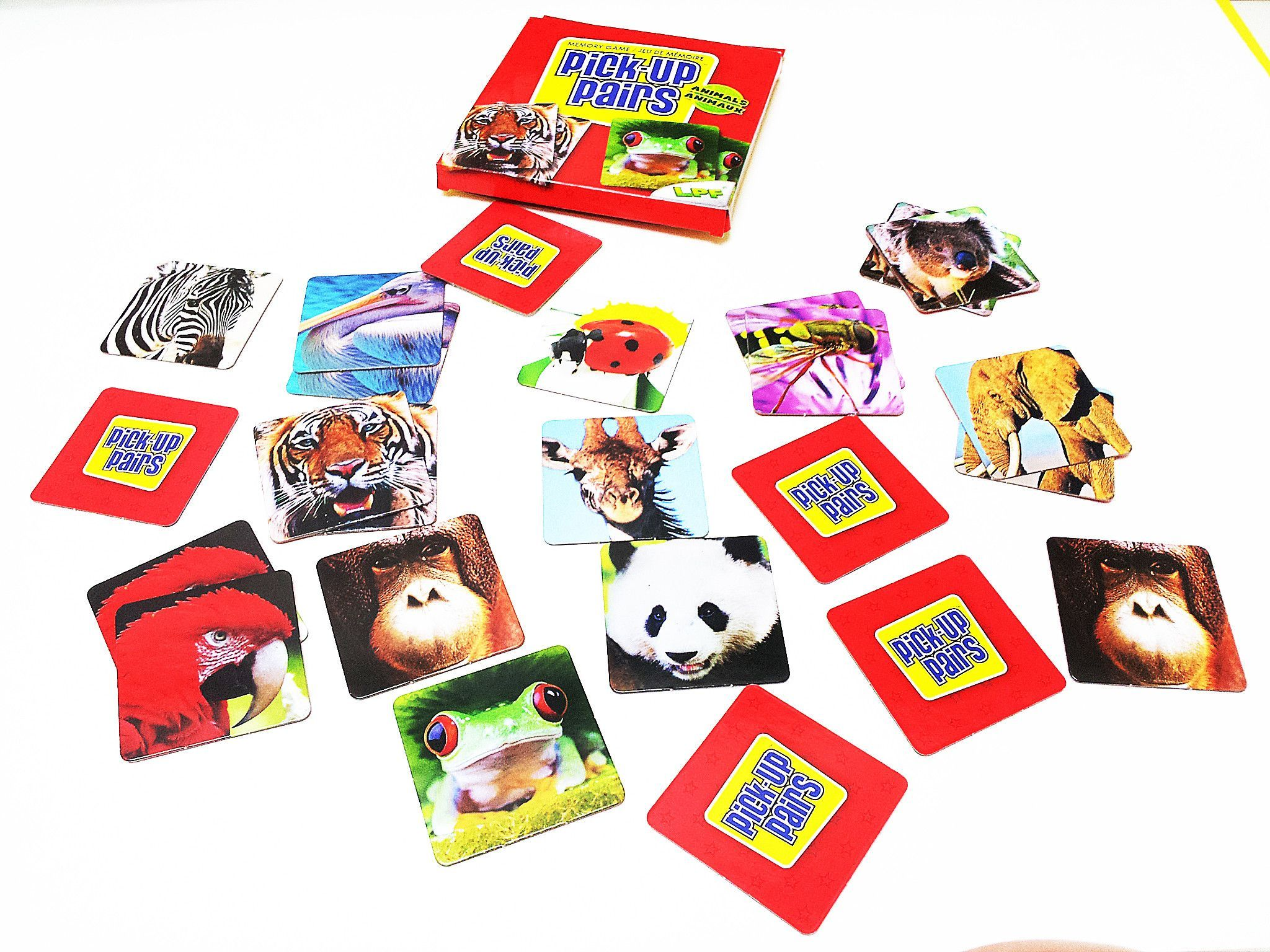 Memory match game animals (With images) Memory match