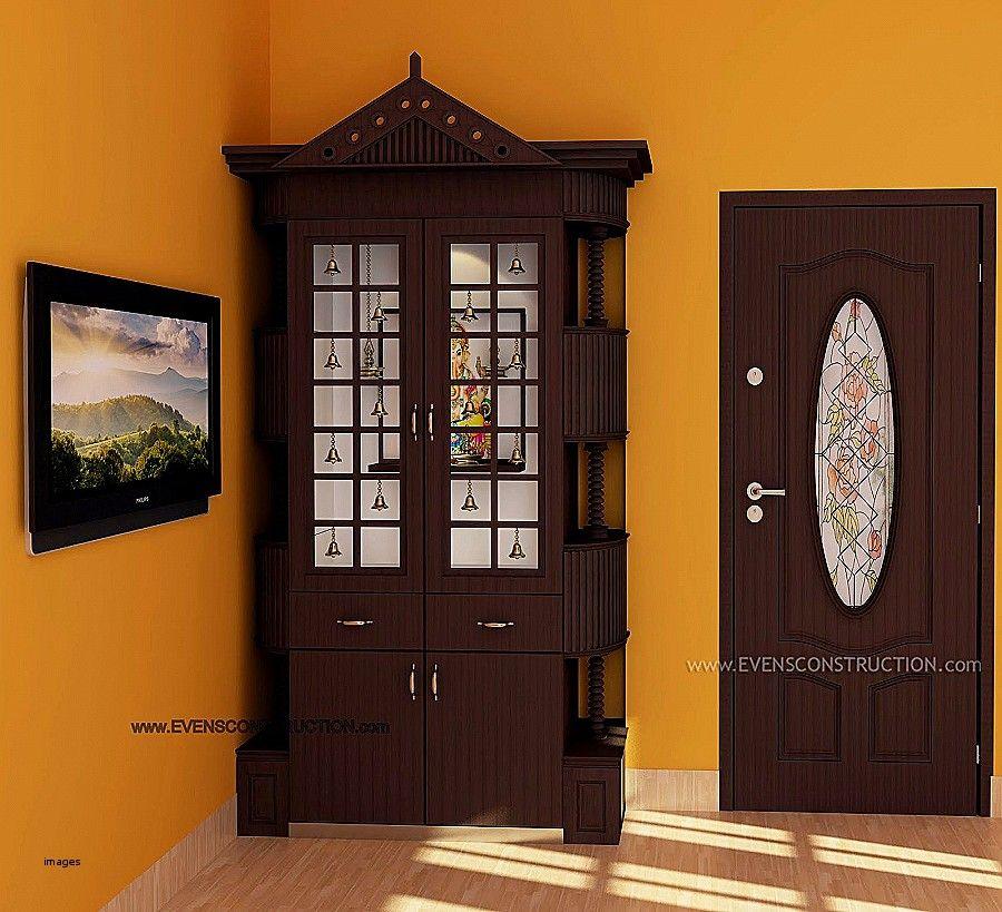 Temple Glass Door Design Unique Room Pooja Indian Decor
