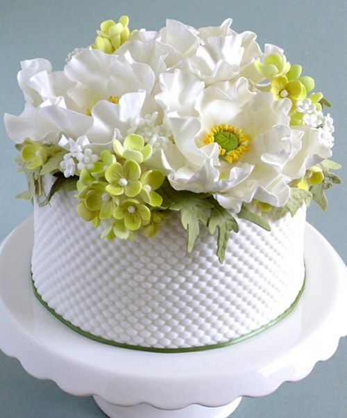 Beautiful Happy Birthday Images with Cake and Flower Photo Happy