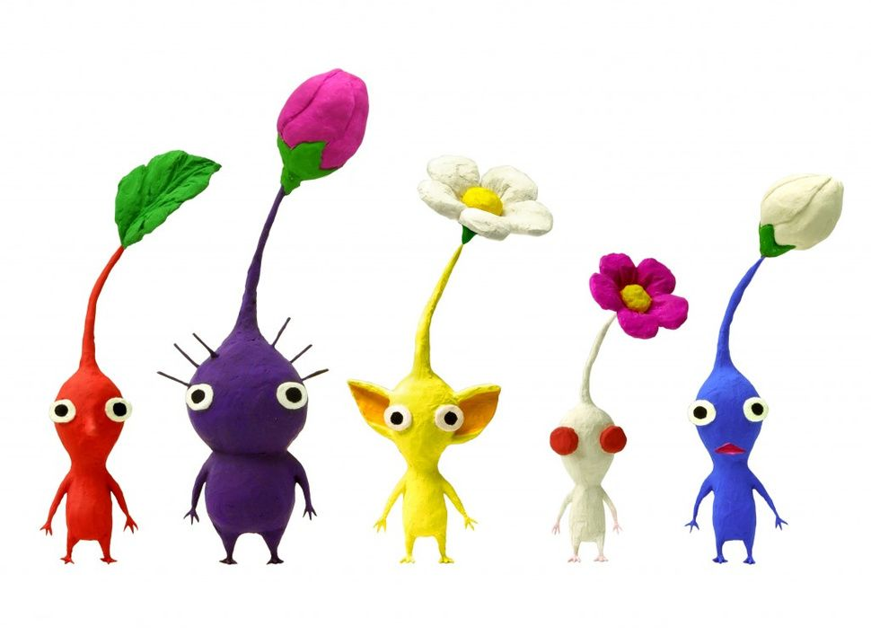 Miyamoto Wishes That Pikmin 3 Could Ve Been A Wii U Launch Game Art Toy Shigeru Miyamoto Character Design