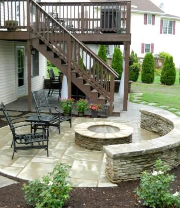 Perfect Patio Paver Design Ideas Patio Under Decks Patio Fire Pit Patio