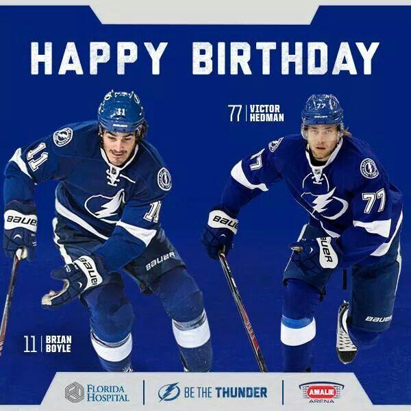 Happy Birthday Tampa Bay Lightning Lightning Hockey Tampa Bay