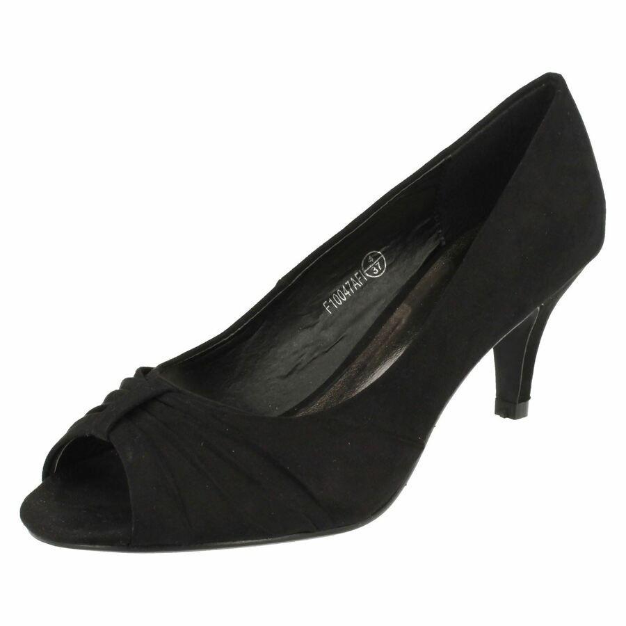 Ladies Spot On Peep Toe *Heels*