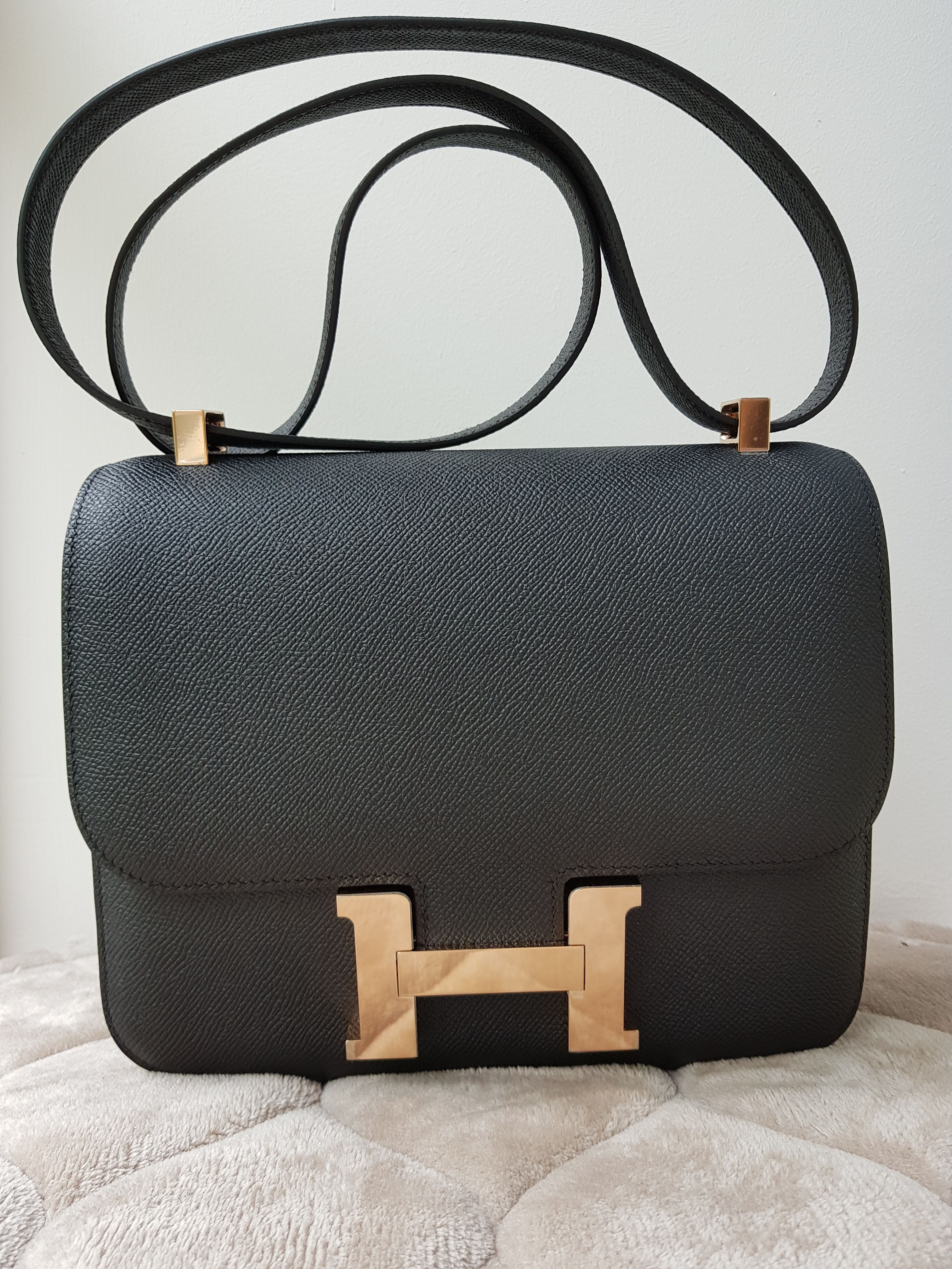908471026526 Bnib Hermes C24 Black Epsom Rosegold Hardware A by Ciaciasg Mybeautifulbags  Brand new in box Hermes
