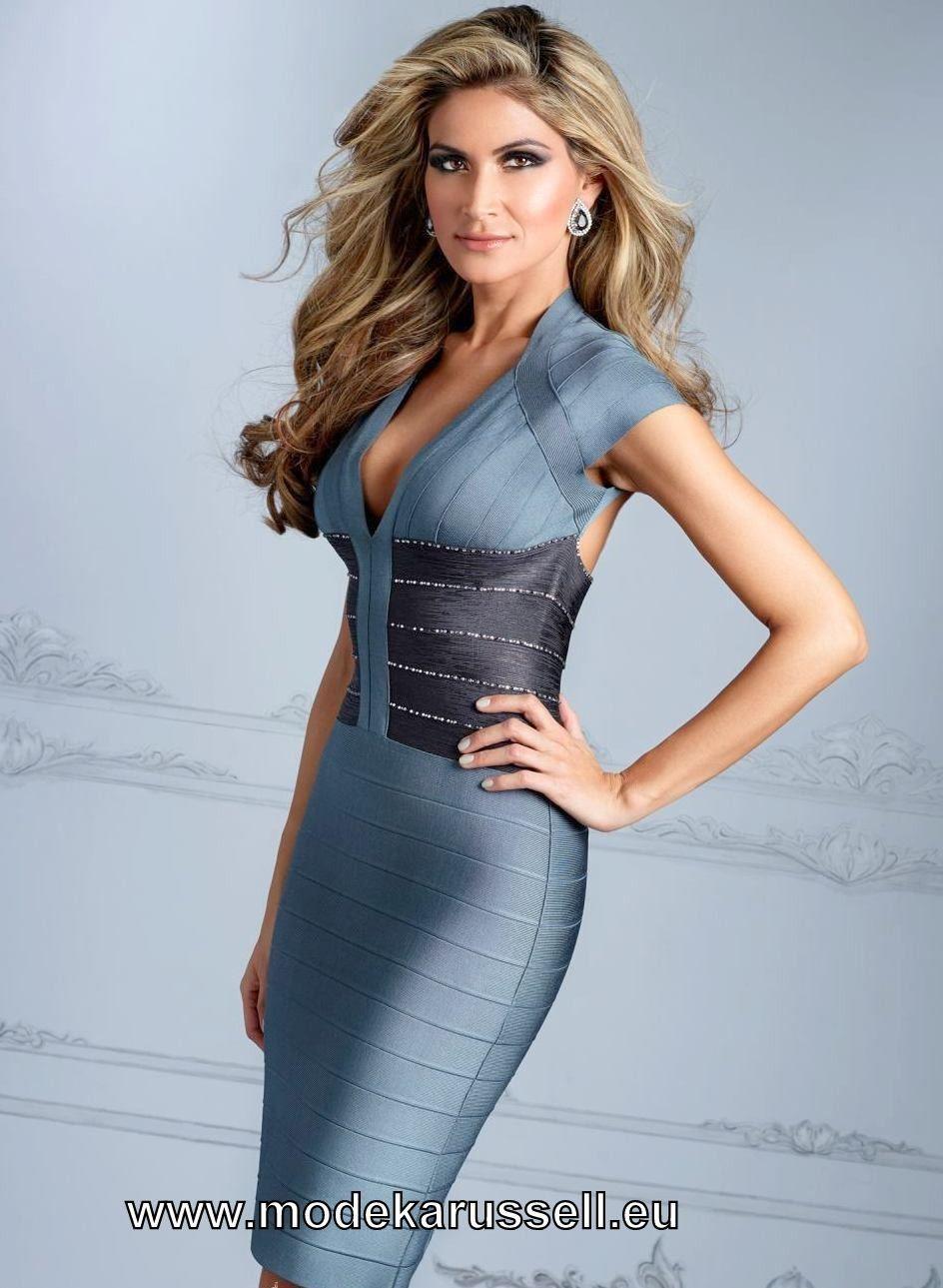 Elegantes Etui Cocktailkleid Knielang #mode #fashion # ...