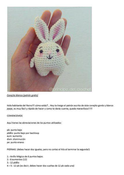 Pin de Silvia Obando en Tejido | Pinterest | Patrones amigurumi ...