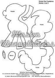 Resultado de imagen para moldes para imprimir de my little pony