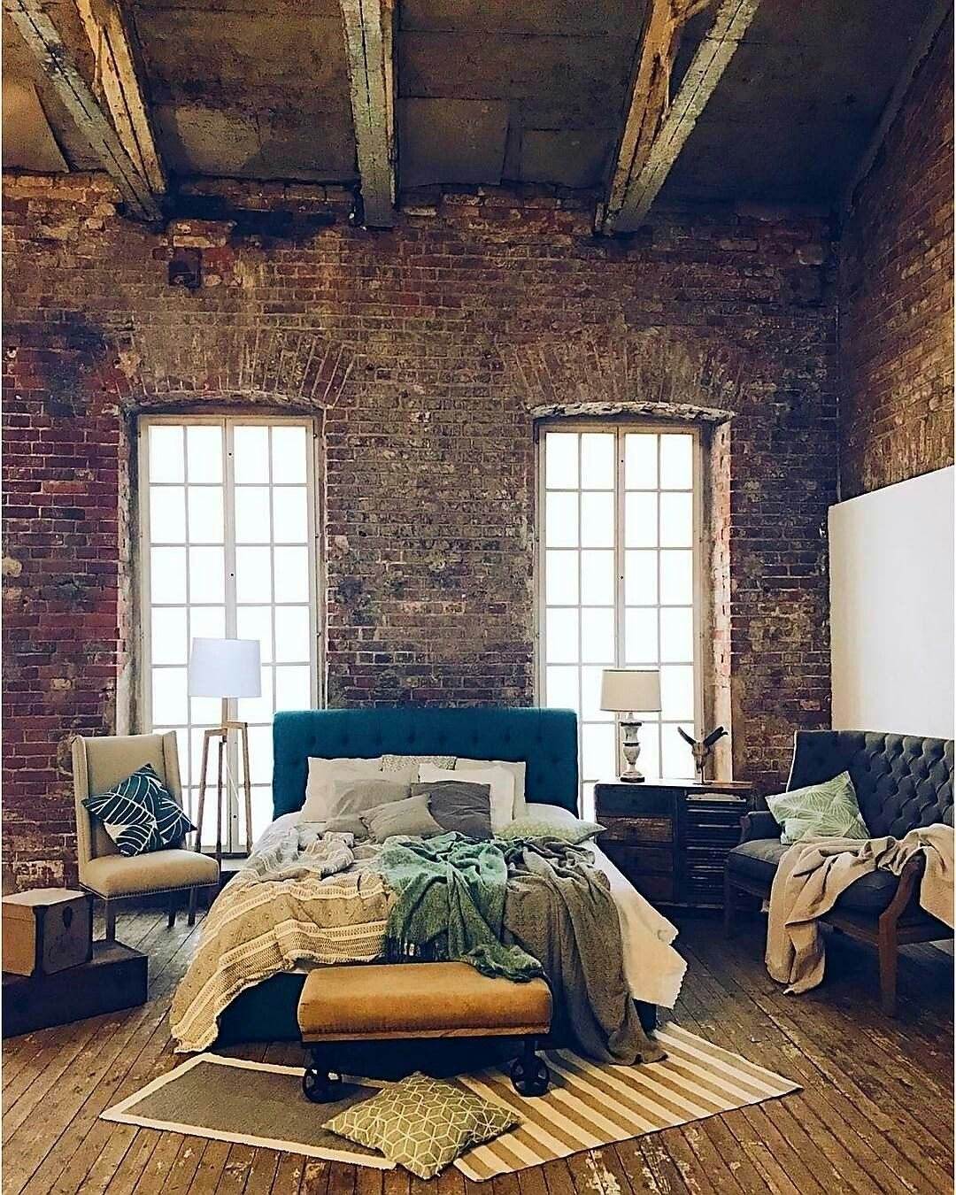 Loft bedroom design ideas  Feel Inspired With These New York Industrial Lofts  Vintage decor