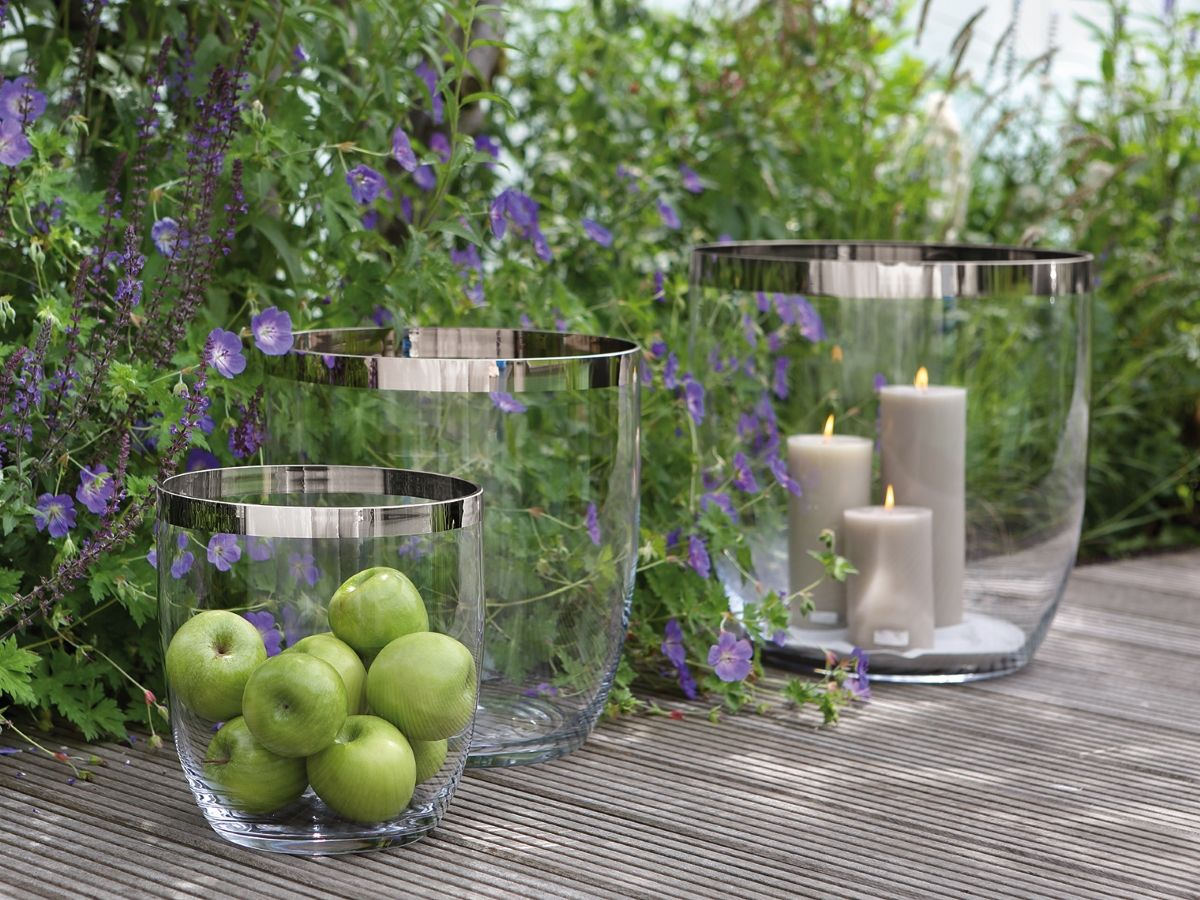 fink living glas vase windlicht deluxe kaufen im borono. Black Bedroom Furniture Sets. Home Design Ideas