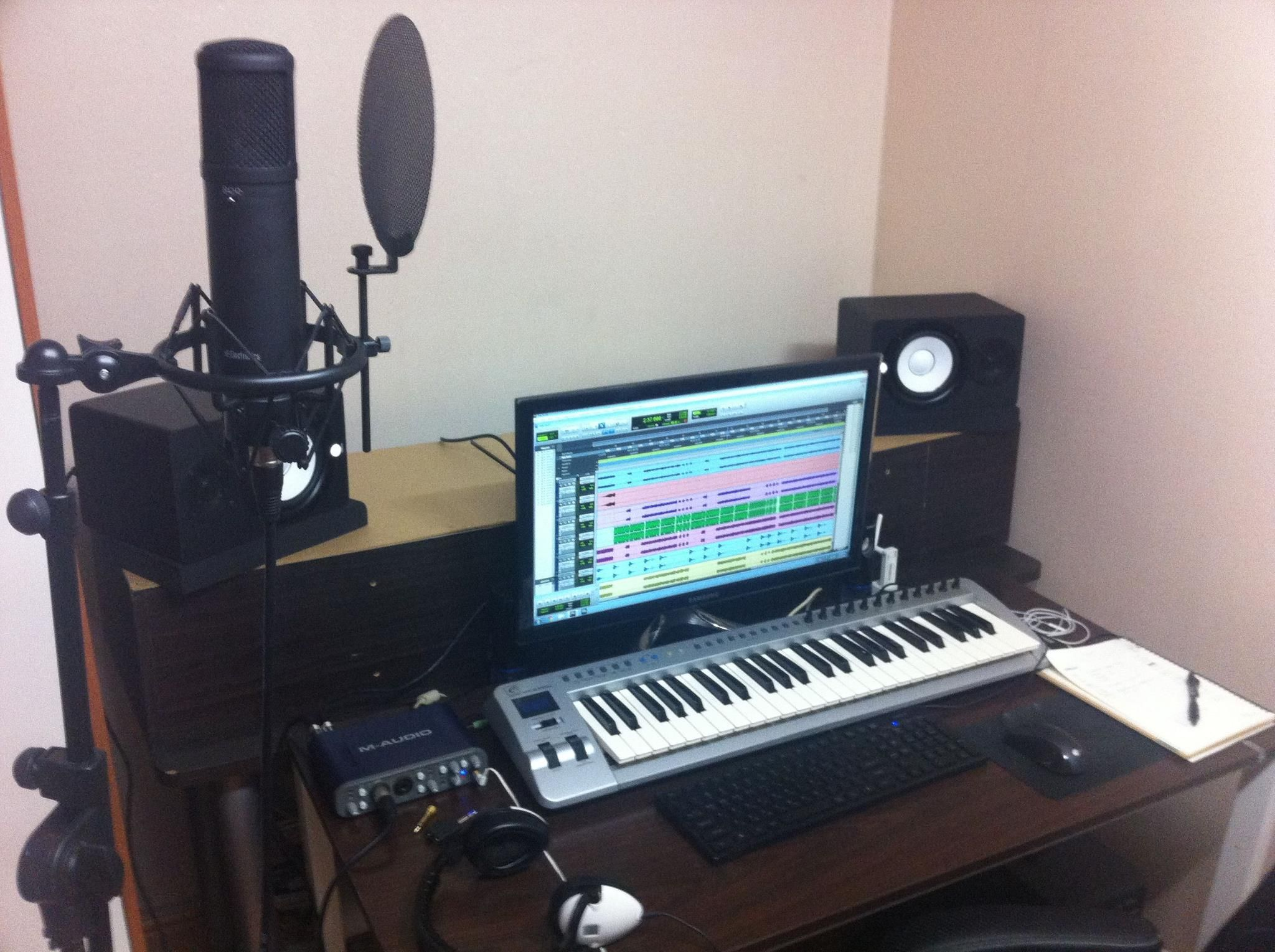 Images For Mini Home Recording Studio Setup Recording Studio