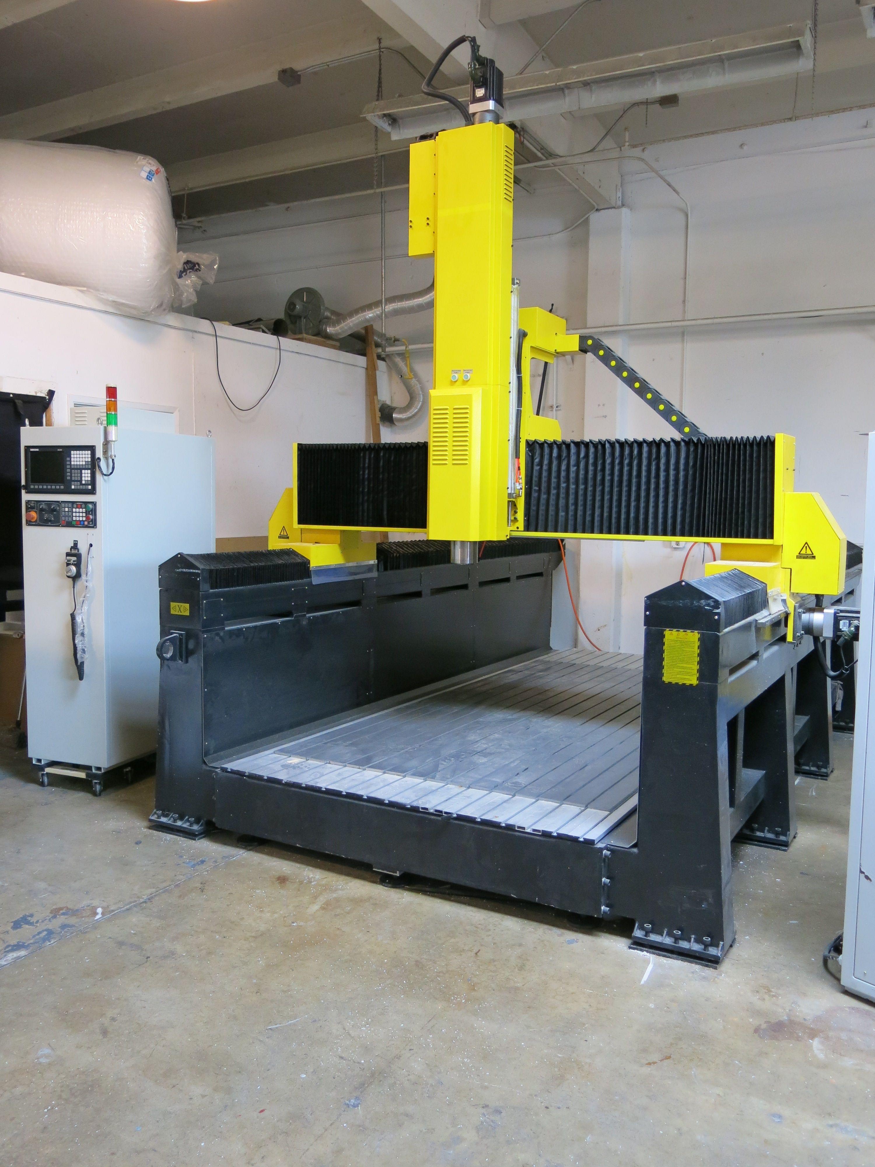 large scale cnc machine - 736×981