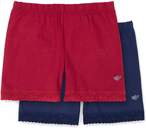 Lucky /& Me Leah Girls Undershorts Childrens Tagless Shorts for Under Dresses /& Uniforms 2 Pack