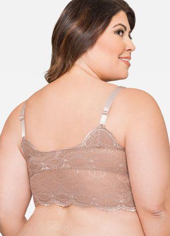 52f6814651 Longline Lace Bralette | Duci divat. | Lace bralette, Lace és Long a ...