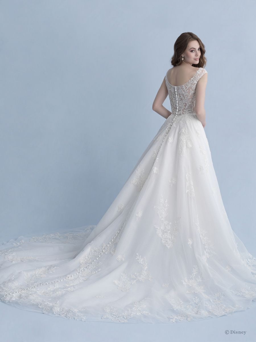 Style D267 Snow White Allure Bridals Disney Princess Wedding Dresses Snow White Wedding Dress Ball Gowns Wedding [ 1200 x 900 Pixel ]