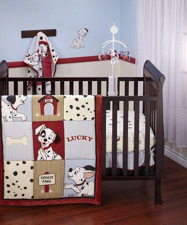 101 Dalmatians Four-Piece Bedroom Set #zulily #zulilyfinds Ryder\u0027s