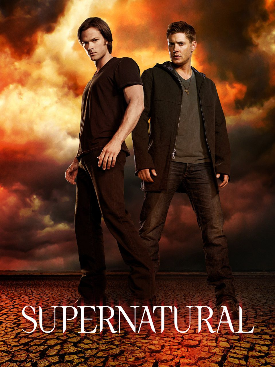 Poster Supernatural New Season 9 8 7 Room Club Art Wall Cloth Print  246