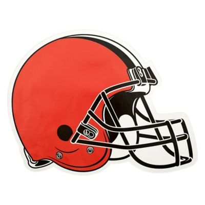 80499d54ac7 NFL Cleveland Browns Small Decal Outdoor Logos