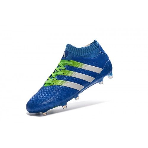 new arrival 097f1 5a09b Beste Adidas ACE 16.1 Primeknit FG AG Bla Fotballsko -Billig Adidas ACE  Fotballsko