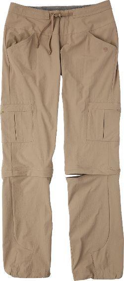 """Mountain Hardwear Women's Yuma II Convertible Pants 32"""" Inseam"""