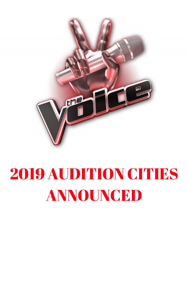 Auditions For The Voice Will Began Sweeping The Nation Again In January 2019 Voice Auditions The Voice Audition
