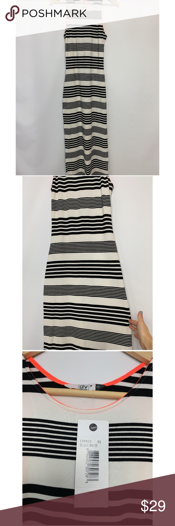 Nwt Dolce Vita Striped Stretchy 132 Maxi Dress Dolce Vita Maxi Dress Clothes Design [ 1740 x 580 Pixel ]