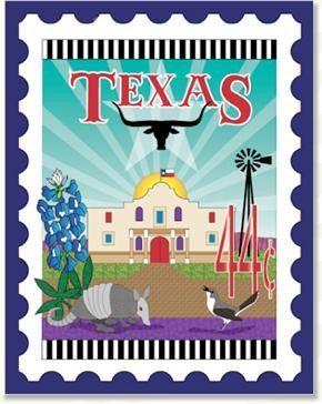 Texas Stamp Laser Cut Pre Fused Applique Quilt Kit