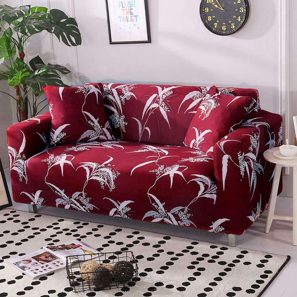 1 2 3 4 Seater Stretch Chair Sofa Covers Couch Cover Elastic Slipcover Protector Slipcovers Sofa Covers Corner Sofa Slipcover