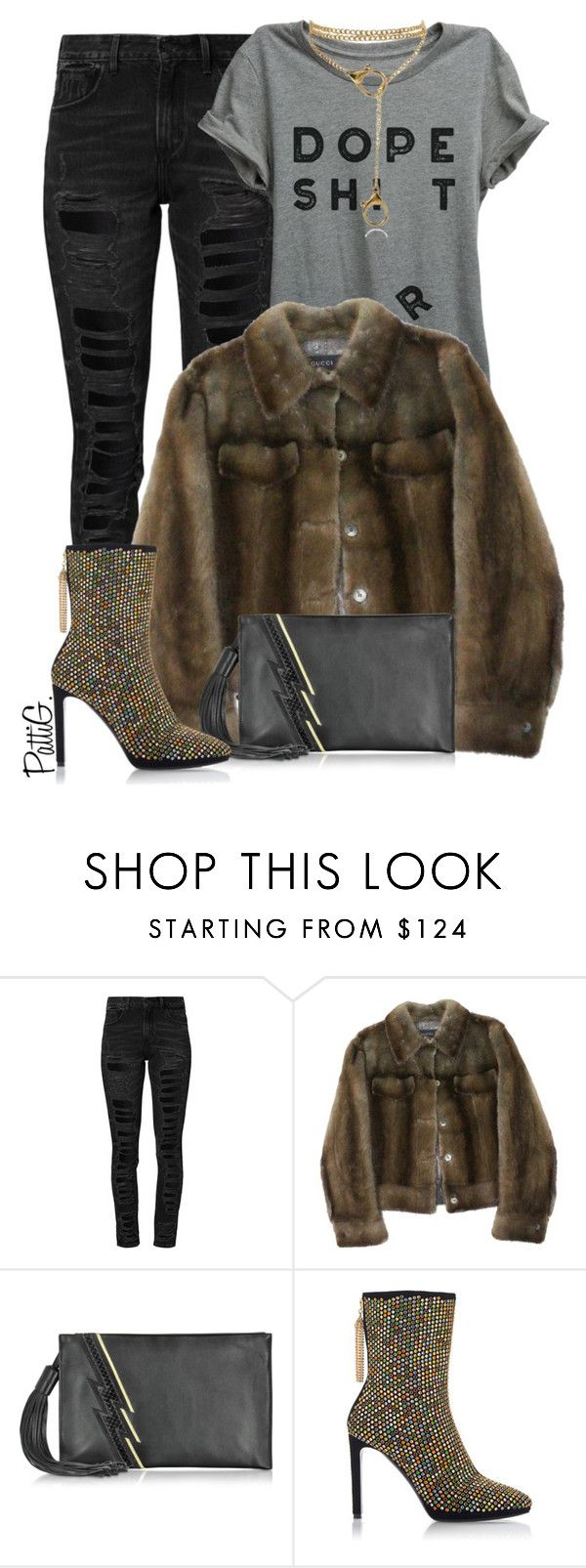 """""""JOELLE"""" by patigshively on Polyvore featuring Levi's and Roberto Cavalli"""