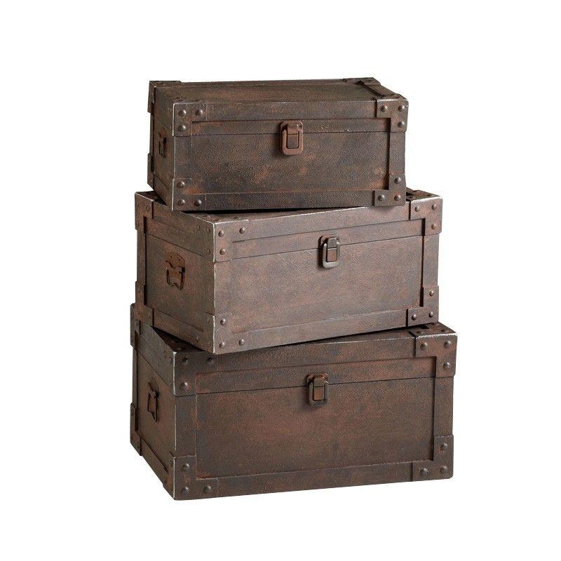 Decorative Luggage Box Prepossessing Love These Trunks  Pins I Love   Pinterest  Decorating Inspiration Design