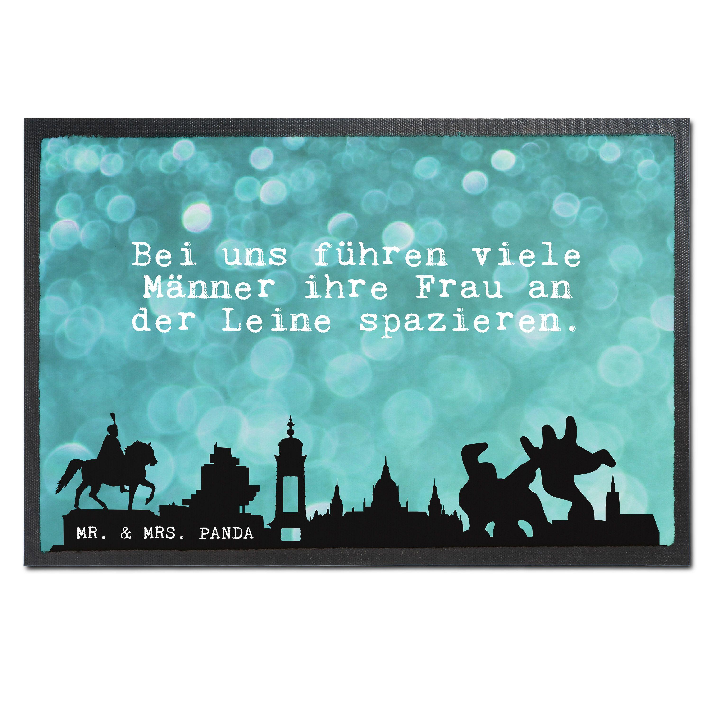Fußmatte Druck Glitzer Sprüche Aus Velour Schwarz   Das Original Von Mr. U0026  Mrs.