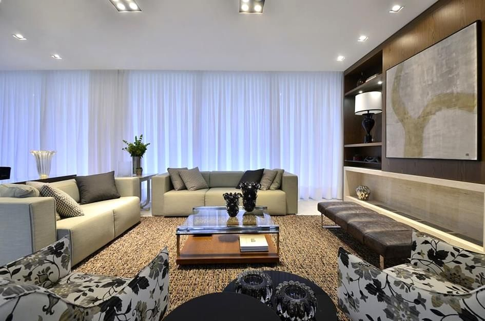Dramatic Effect In Living Room House Brazil Minuscoli Martini