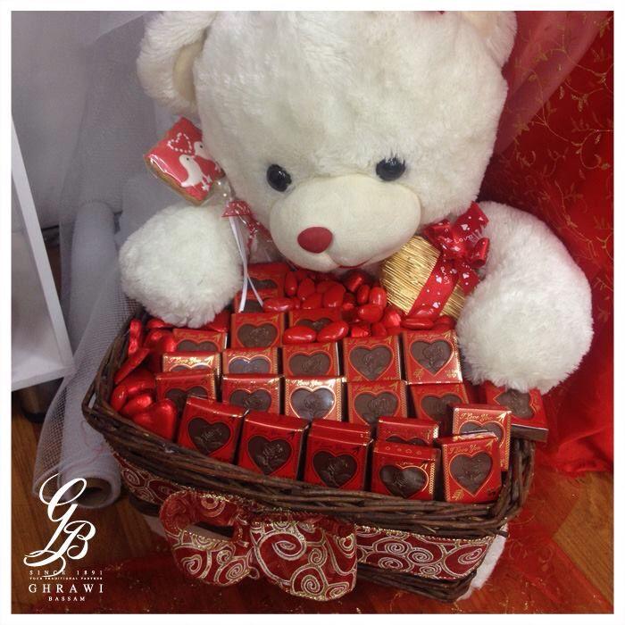 شريكتك تحتاج للدفء وللشوكولا أيضا شريككم التراثي مصنع بسام الغراوي لبنان كفرشيما بيروت Teddy Teddy Bear Toys
