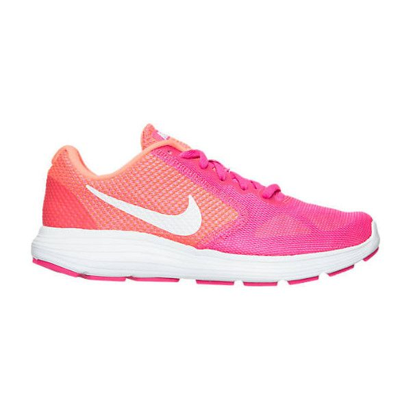 Nike Women's Revolution 3 Running Shoes ($45) ❤ liked on Polyvore featuring  shoes,