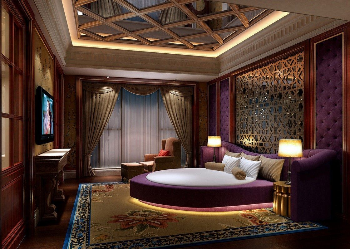 Purple Master Bedroom This Is My Dream Master Love That