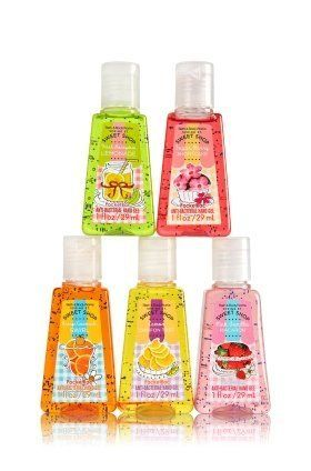 Bath Body Works 5 Pack Pocketbac Spring St Sweet Shop