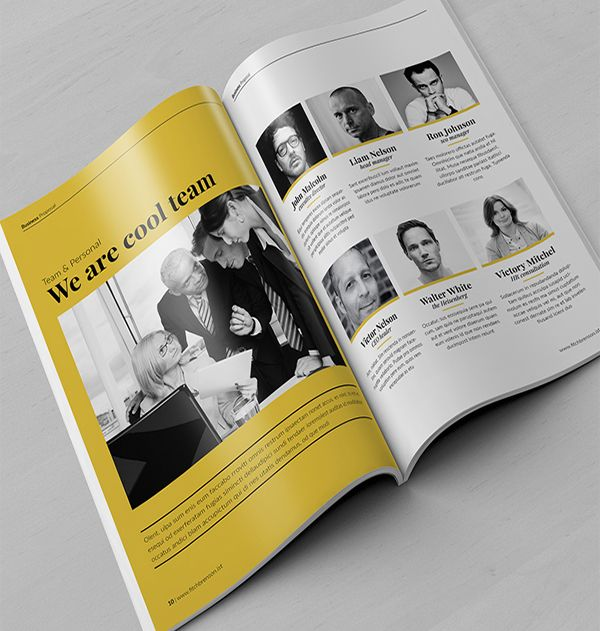 100 Free Creative Brochure Design Ideas For Your Inspiration