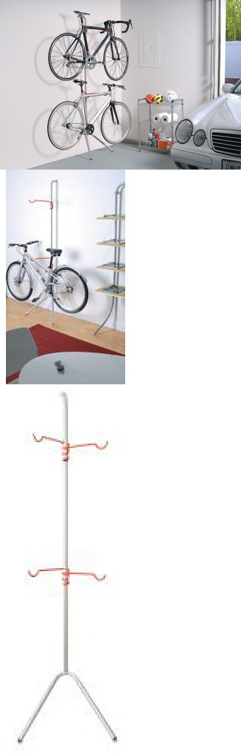 Bicycle Stands and Storage 158997: Bike Rack Storage Racks For Garage Apartment House 2 Bicycles Bikes Bicycle New -> BUY IT NOW ONLY: $74.5 on eBay!