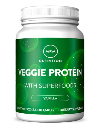 Mrm Veggie Protein Powder Protein Source For Vegans In 2020 Vegan Protein Sources Best Vegan Protein Powder Vegan Protein Powder