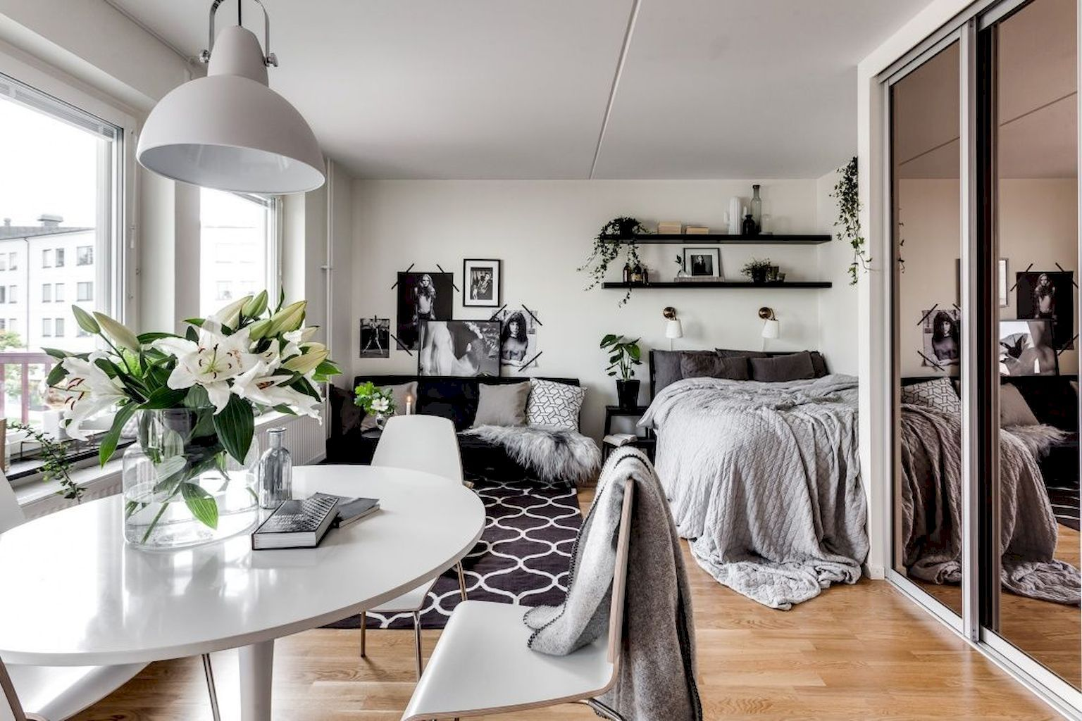 100+ Small Studio Apartment Layout Design Ideas images