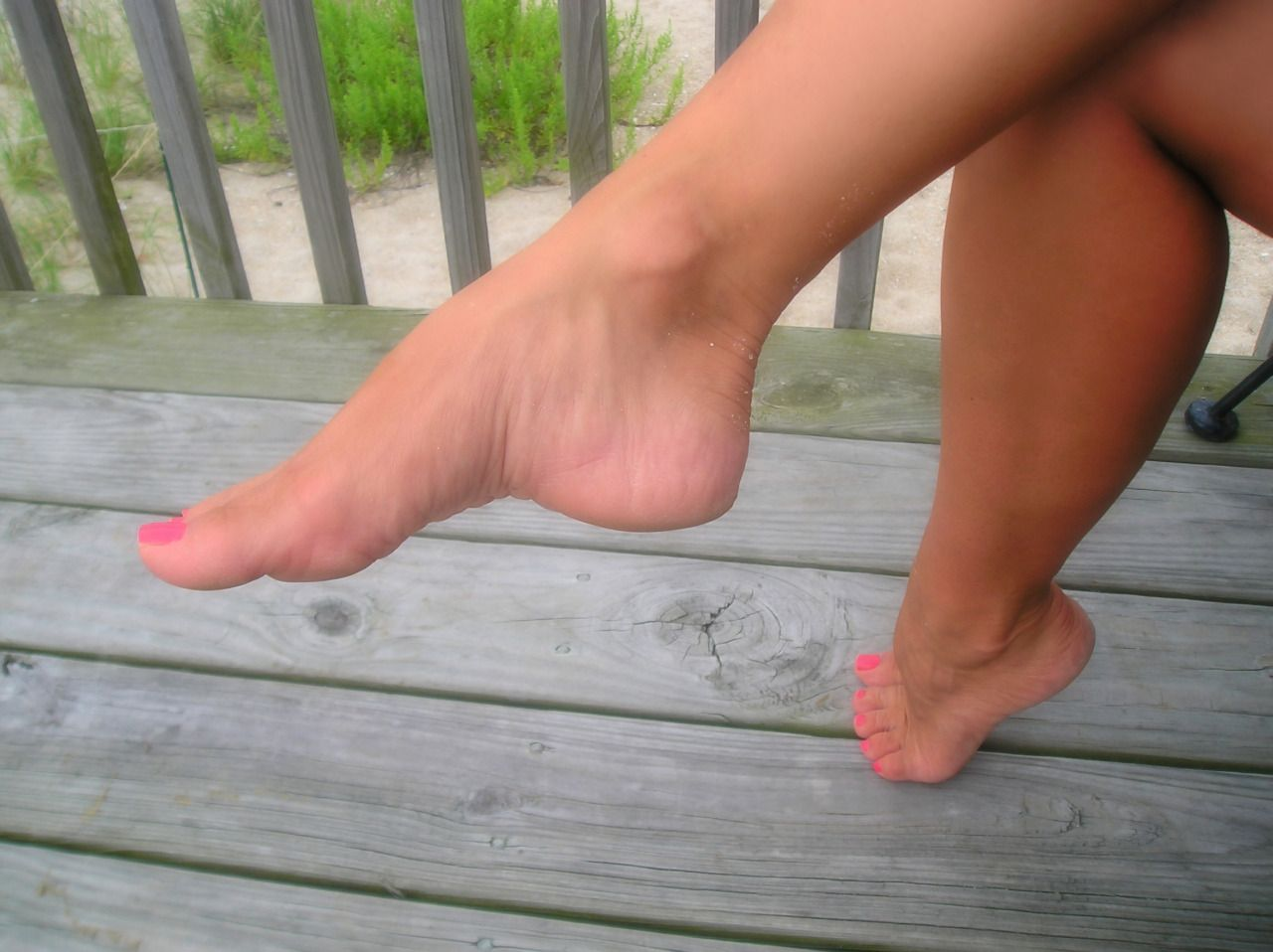 Final, sorry, My wifes sexy feet and legs the