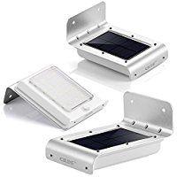 aussenbeleuchtung und gartenleuchten, grde® 16 led solar wände lampen außenbeleuchtung solarleuchten, Innenarchitektur