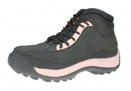 ET Safety C4682 Ladies Black Lace up Safety / Work Toecap Boots