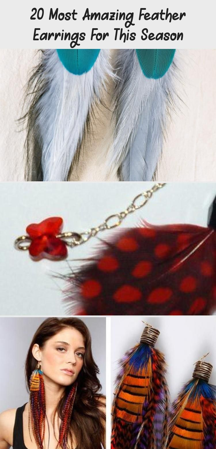 Photo of 20 Most Amazing Feather Earrings For This Season – Jewellery | DCHouzz