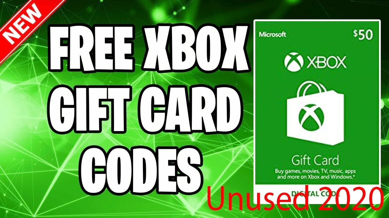Free Xbox Live Codes That Haven T Been Used New 2020 In 2020