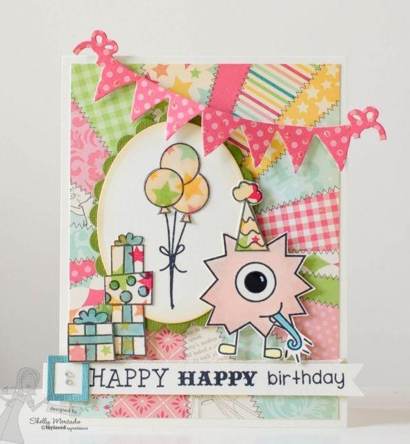Happy Happy Birthday by Shelly Mercado